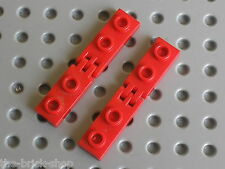 LEGO TECHNIC red hinge plates 4275b & 4276b / Set 5590 5580 5581 5542 5510 6263