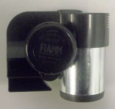 FIAMM ULTIMATE BLAST 12V TWIN TONE COMPACT AIR HORN BLACK 115dB (INCLUDES RELAY)