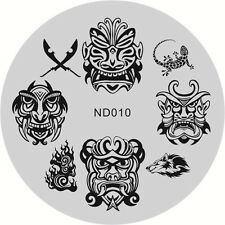 Nail Art Stamping Image Plates Stencil Manicure Stamp Template Cool Design DIY