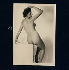 #343 Rössler nudismo/nude Woman Study * vintage 1950s Studio Photo-no PC!