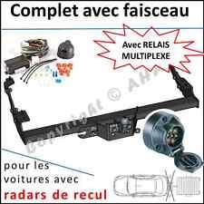 ATTELAGE Renault Trafic Fourgon dès 2001 faisceau 7 br relais radars de recul