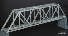 BRASS SHUNANDA 1016-2 WARREN 165ft THROUGH TRUSS BRIDGE 1-TRACK F/P SILVER NEW
