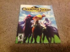 Champion Jockey: G1 Jockey and Gallop Racer PS3 Instruction Book Manual