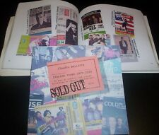 "CLAUDIO BELLETTI ""SOLD OUT"" ED. APPLAUSI 2012 CATALOGO TICKET CONCERT 166 Pag."