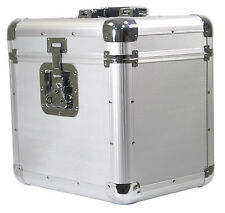 Soundlab Silver Professional Euro Style DJ CD Record Album Case Holder Fits 150