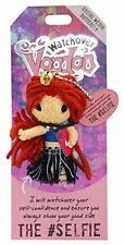 """Watchover VOODOO DOLL Keychain, THE #SELFIE, Social Media Butterfly, 3"""" Tall"""