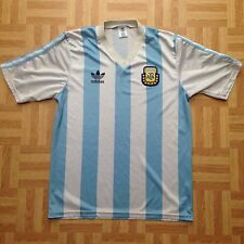 Argentina World Cup italia 90 Football Shirt 1990 / 91 Medium Adult Maradona
