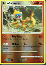 POKEMON MAJESTIC DAWN EXPANSION REVERSE HOLO CARD 41/100 MONFERNO grade nm