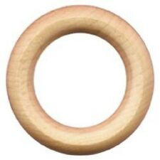 """WOOD RINGS ~ 3"""" Dia. w/ 2"""" Inside Dia. ~ Unfinished Hardwood for Crafts ~ by PLD"""