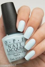 New OPI '16 Soft Shades Pastel *IT'S A BOY!* Baby Blue Creme Nail Polish Lacquer