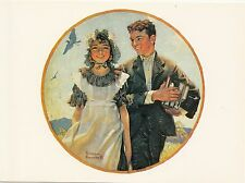 (P033) Postcard - Norman Rockwell - Vacation