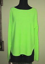 Ralph Lauren Polo Women's Top Soft Merino Neon Green M NWT MSRP $125