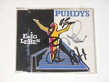 Puhdys - Maxi-CD - Ewig Leben - SIGNED - MIT AUTOGRAMMEN
