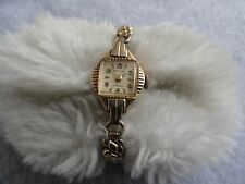 Vintage Swiss Made Zila 17 Jewels Wind Up Ladies Watch with a Stretch Band