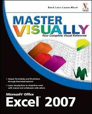 Master VISUALLY Excel 2007 (Master VISUALLY)-ExLibrary