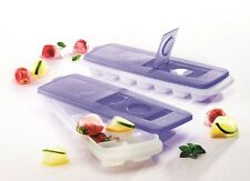 Tupperware Ice Cube Maker, Ice Tray (2) Makes 14 cubes each, NEW, Free Shipping