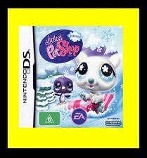 Littlest Pet Shop Winter Nintendo NDS DS Lite DSi XL Brand New