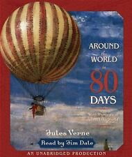 Around the World in 80 Days by Jules Verne (2005, CD, Unabridged)