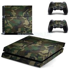 Camo Vinyl Skin Sticker for Sony PS4 PlayStation 4 and 2 Controller Skins
