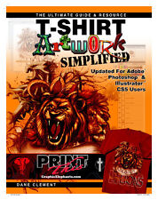 T-Shirt Artwork Simplified Adobe Illustrator PhotoShop CS3-5 Guide Screen Print