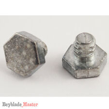 2 pcs Beyblade Metal Masters bolt screw metal face High performance accessories