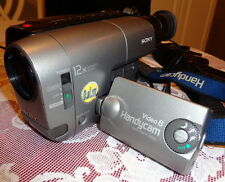 SONY HANDYCAM TRV11 8mm VIDEO CAMERA CAMCORDER / PLAYER RECORDER - BUNDLE