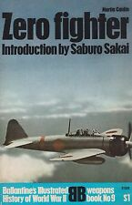 ZERO FIGHTER by MARTIN CAIDIN (Ballantine's) (Japanese Navy Fighter, A6M)