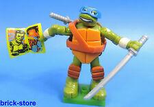 MEGA BLOCKS Nr.04 / Teenage Mutant Ninja Turtles Serie 1 / Figur Leonardo