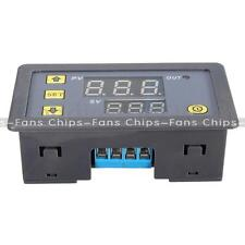 12V Cycle Timer Delay 0-999 hours/minutes/seconds Dual Display Relay Module New