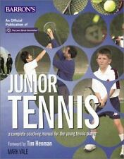 Junior Tennis: A Complete Coaching Manual For The Young Tennis Player-ExLibrary