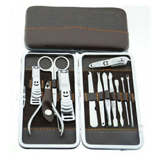 Travel MEN Nail Groom Tool Cutter Cuticle Clipper Pedicure Manicure Kit Gift Set