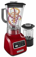 New KitchenAid Vortex Wet & Dry Blender 5-Speed .9 HP Motor Empire Red KSB655CER