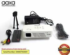 AAXA ST200 Pico Projector, 150 Lumen, 1280x720 HD, HDMI Input (Refurbished)