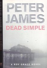 PETER JAMES - dead simple BOOK