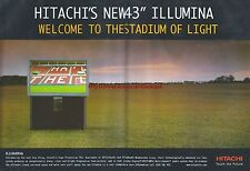 Hitachi Illumina TV 2000 Magazine 2 Page Advert #4246