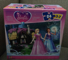 BARBIE THE DIAMOND CASTLE PUZZLE 24PCS AGES 3-7 *NEW*