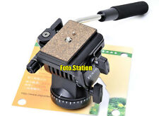 Video Action Fluid Drag Head Ball Head For Digital Camera DSLR Camcorder Tripod