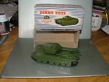 Dinky Supertoys Meccano 651 Centurion Tank boxed  tracks N/MINT