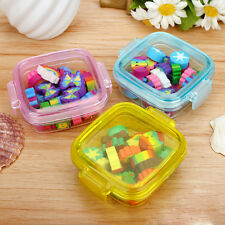 Novelty Children Kids Gift Funny Cute Rubber Pencil Eraser Set Stationery New