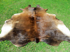 LARGE NEW Cowhide Rug natural Cowhides Rugs Cow Hide Skin Hides R2126
