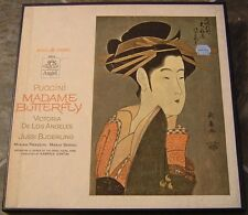 "Album By De Los Angeles, ""Puccini: Madame Butterfly"" on Angel in NM Condition"