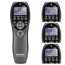LCD Display Shutter Release Wired Timer Remote Control NW-880/E3