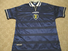 Authentic Umbro Scotland National World Cup 1998 Soccer Football Shirt Jersey XL