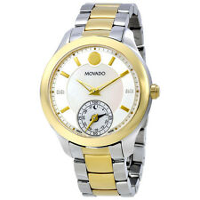 Movado Bellina Motion Silver Metallic White Mother Of Pearl Dial Ladies Smart