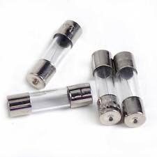 100PCS/Set  2A Amp 250V Glass Tube Quick Fast Blow Fuse F2A L250V 5x20mm