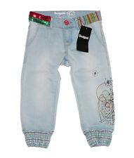 Desigual Mädchen Jeans Capri-Hose Gr. 5/6 | 110-116 Hellblau [E3]