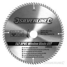 Lame scie circulaire carbure 250 x 30 pour profilés PVC 80 Dents Ref 598444