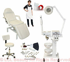 9 in 1 Facial Machine Hydraulic Massage Table Chair Spa Beauty Salon Equipment