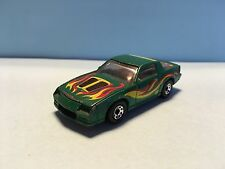 Diecast Matchbox Chevrolet Camaro IROC-Z 28 Green Wear & Tear Good Condition