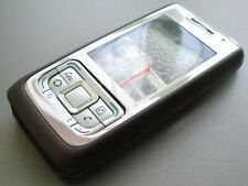 new nokia e65 cover housing keypad set brown